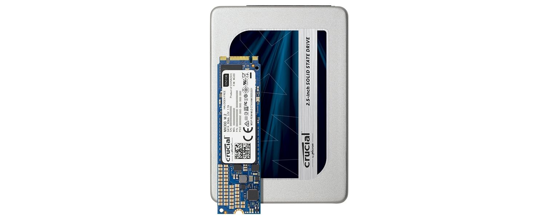 Crucial MX300 SSDファミリ
