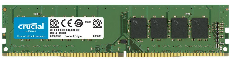 Crucial DDR4 UDIMM RAMメモリモジュール
