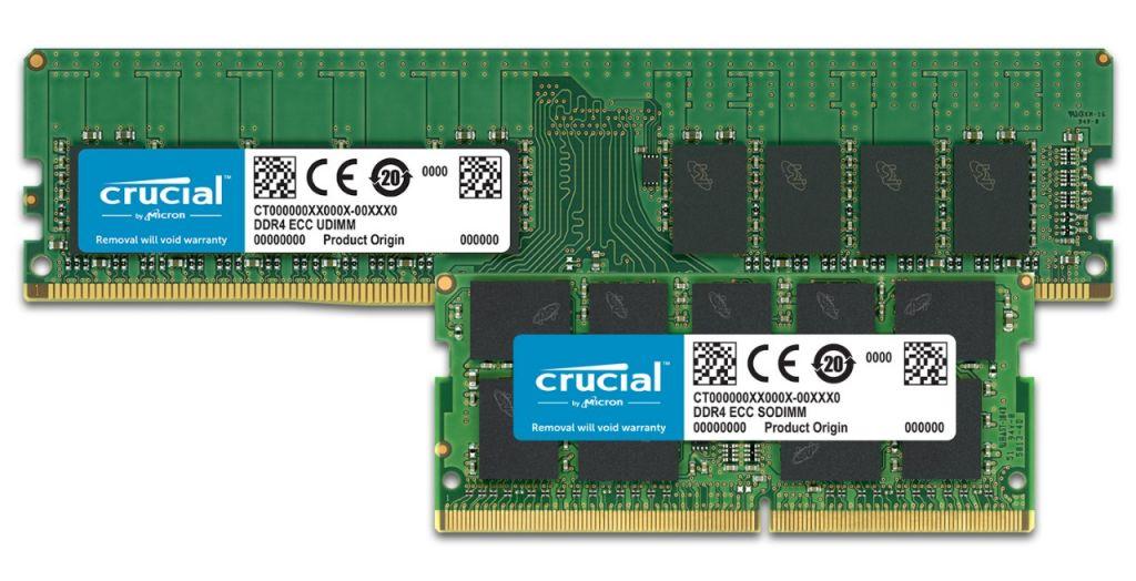 ECC Crucial memory.